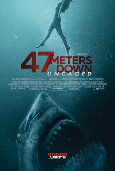 47 Meters Down: Uncaged (2019) - Movie Poster