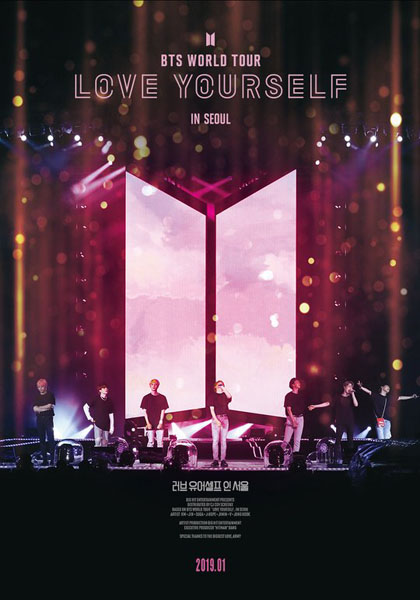 BTS World Tour: Love Yourself in Seoul (2019) - Movie Poster