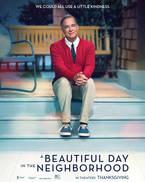 Beautiful Day in the Neighborhood, A (2019) - Movie Poster