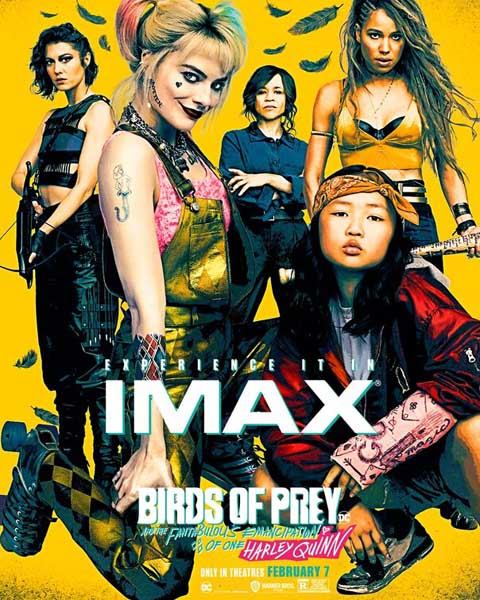 Birds of Prey (And the Fantabulous Emancipation of One Harley Quinn) (2020) - Movie Poster