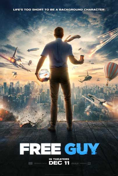 Free Guy (2020) - Movie Poster