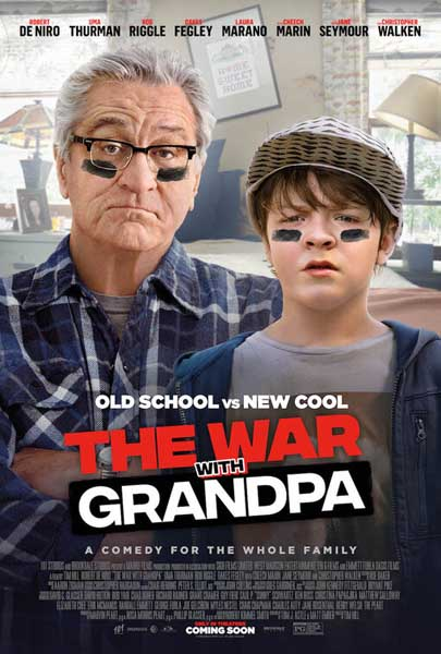 War with Grandpa, The (2020) - Movie Poster