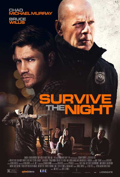 Survive the Night (2020) - Movie Poster