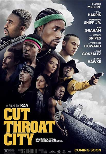 Cut Throat City (2020) - Movie Poster