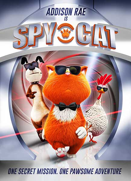 Spy Cat (2018) - Movie Poster