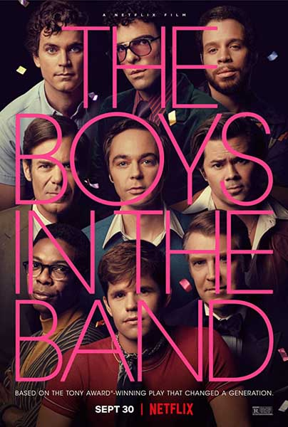 The Boys in the Band (2020) - Movie Poster