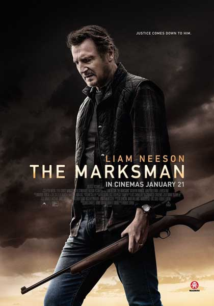 The Marksman (2021) - Movie Poster