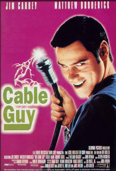 The Cable Guy (1996) - Movie Poster