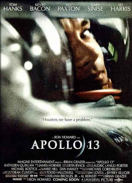Apollo 13 (1995) - Movie Poster