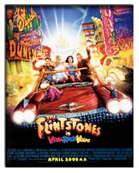 Movie Poster - Flintstones in Viva Rock Vegas, The (2000)