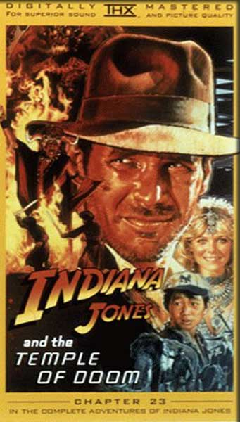 Indiana Jones and the Temple of Doom (1984) - Movie Poster