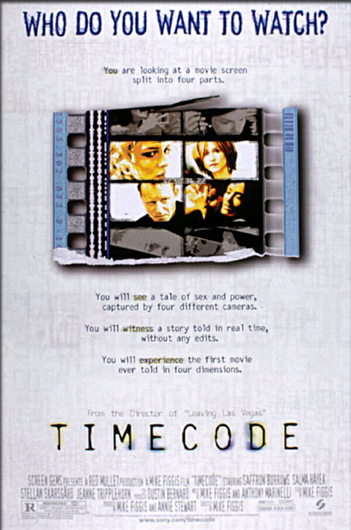 Movie Poster - Timecode (2000)