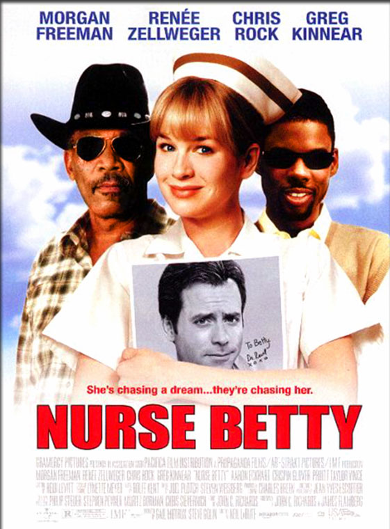 Movie Poster - Nurse Betty (2000)