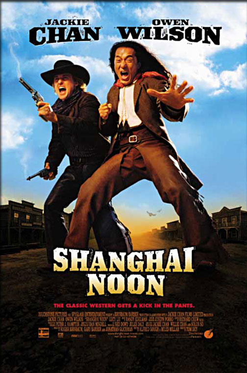 Movie Poster - Shanghai Noon (2000)