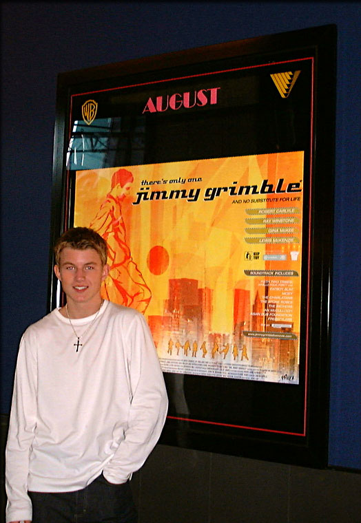 "Cinema.com ""There's Only One Jimmy Grimble"" Interview, Warner Village Cinema, Leeds, UK, 08/2000"