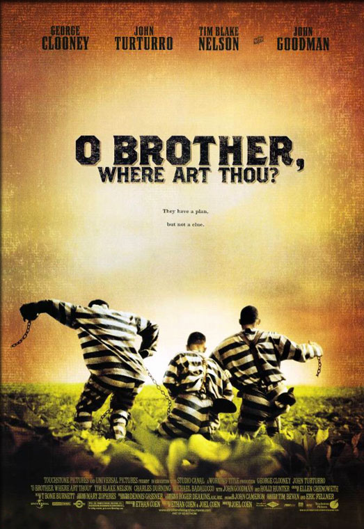 Movie Poster - O Brother, Where Art Thou ? (2000)