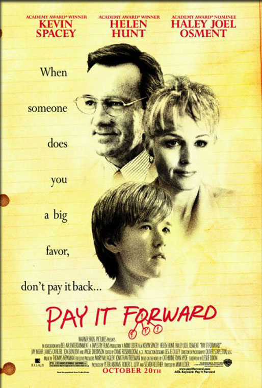 Pay It Forward (2000) - Movie Poster