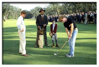 What Golf Sequence Was Bagger Vance Filmed On