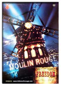 Moulin Rouge. Movie Poster