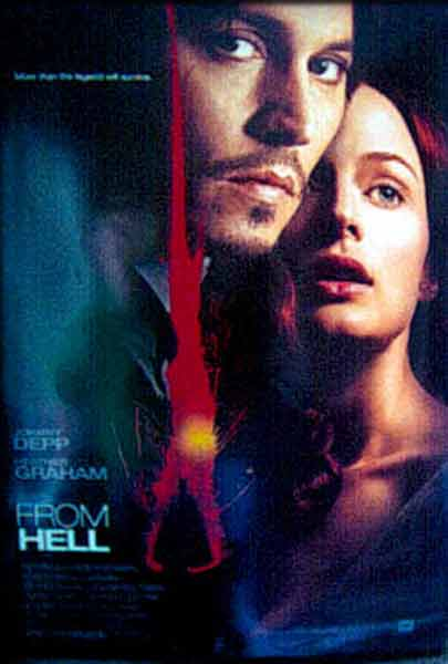 From Hell (2001) - movie poster