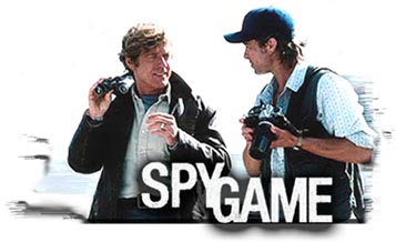 Spy Game - synopsis heading graphic