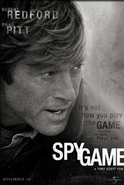 Spy Game (2001) - movie poster