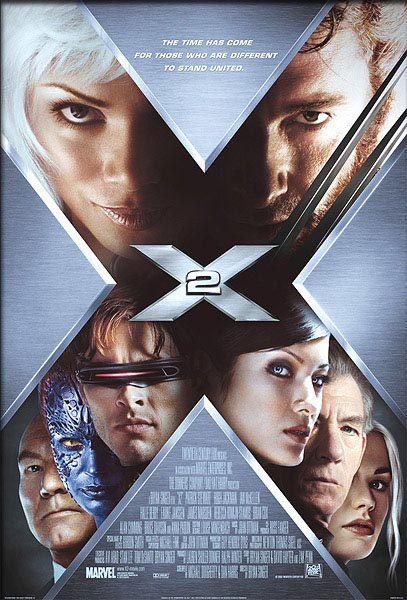 X Men 2, The (2003) - Movie Poster