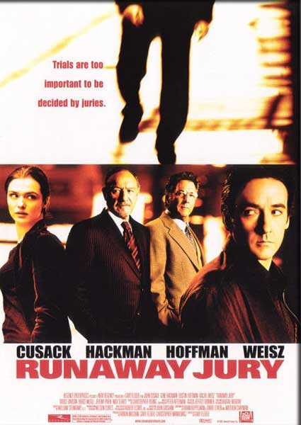 Runaway Jury, The (2000) - Movie Poster