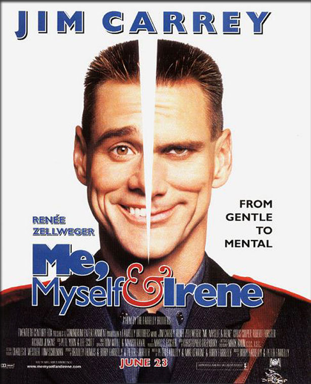 Movie Poster - Me, Myself & Irene (2000)