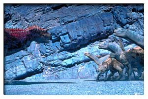 Aladar, Neera & friends are confronted by a Carnotaur - Dinosaur (2000)