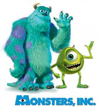 Monsters, Inc. - synopsis heading