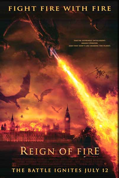 Reign of Fire (2001) - Movie Poster
