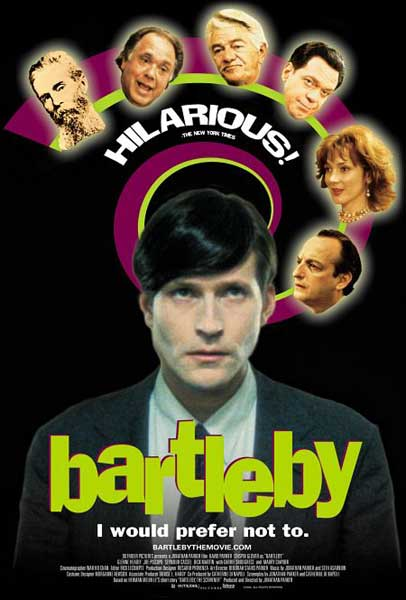 Bartleby (2000) - Movie Poster