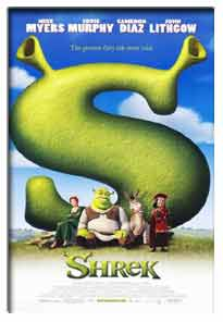Shrek (2001) - Movie Poster
