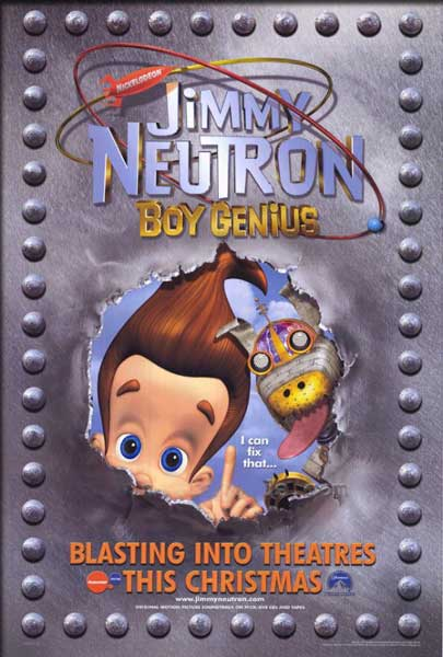 Jimmy Neutron (2001) movie poster