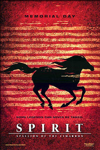 Spirit: Stallion of Cimarron - Movie Poster