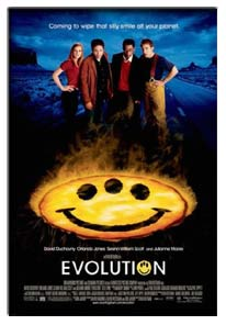 EVOLUTION MOVIE POSTER (2001)