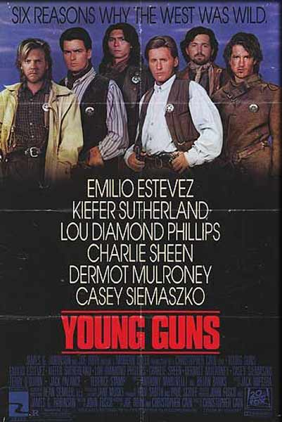 Young Guns (1988) - Movie Poster