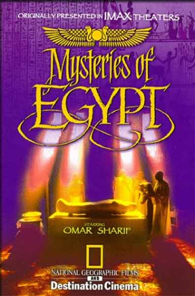 Mysteries of Egypt (1998) - movie poster