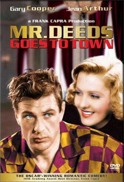 Mr. Deeds Goes To Town (1936) - Movie Poster