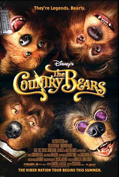 Country Bears, The (2002) - Movie Poster