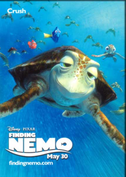 Finding Nemo (2003) - Movie Poster