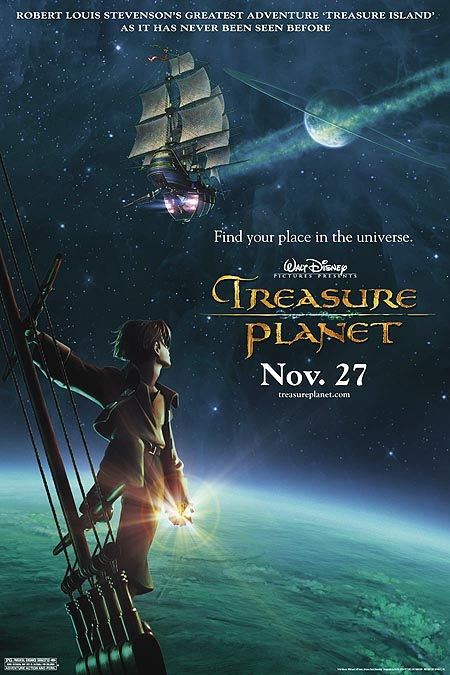 Treasure Planet (2002) - Movie Poster