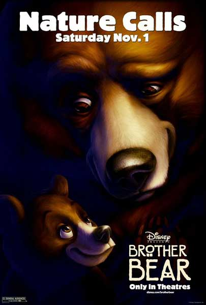 Brother Bear (2003) - Movie Poster