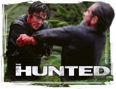 Hunted, The - synopsis heading graphic