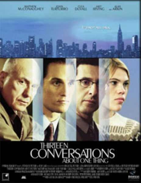 13 Conversations About One Thing (2001) - Movie Poster