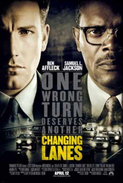 Changing Lanes (2001) - Movie Poster