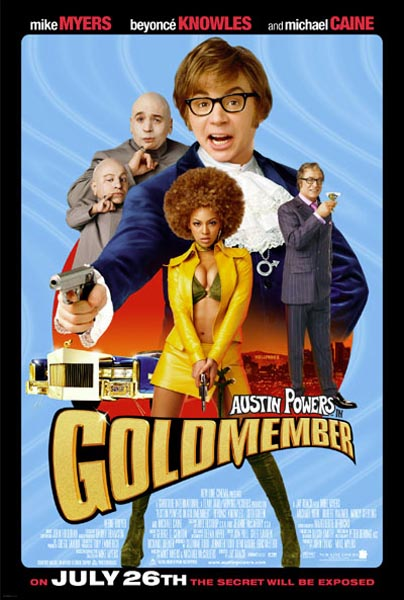 Austin Powers 3: Goldmember - Movie Poster