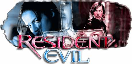 resident evil - synopsis heading graphic