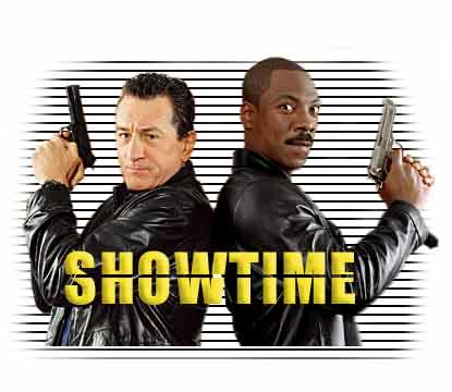showtime - synopsis heading graphic
